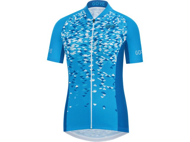 GORE WEAR C3 Petals Jersey Women dynamic cyan/ciel blue